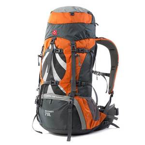 wholesale waterproof outdoor large capacity 70L camping bag hiking back pack