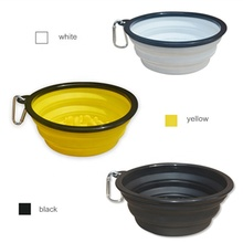 new product slow eating drinking portable dog bowl for food and water