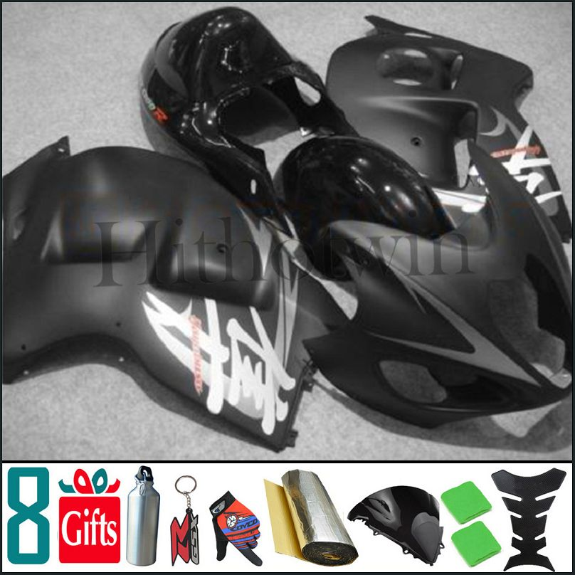 1997 1998 1999 2000 2001 2002 2003 2004 2005 2006 2007 GSX 1300R Matt Black Body Kit Fairing For Suzuki GSX1300R Hayabusa 99 <strong>00</strong>