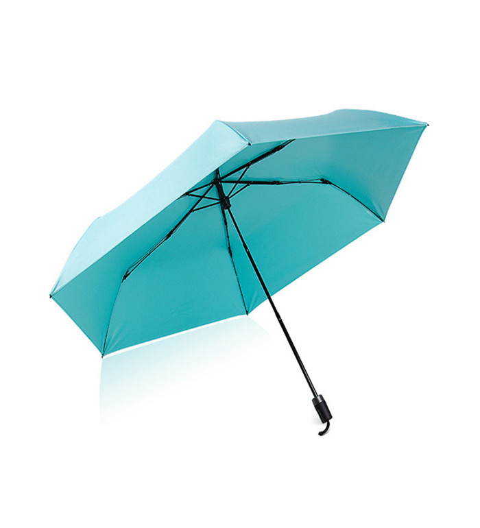 Single Layers High Uv Anti Beach Umbrella Three Folding Umbrella