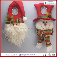 christmas decoration parachute handmade santa claus