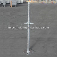 Construction steel scaffold leveling jack