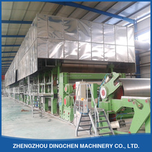 2880mm 50TPD carton board testliner duplex fluting corrugated craft paper making machine price