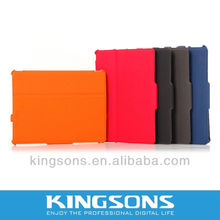 Hot! colorful bags for Ipad 2012 newest design leather case for ipad 3