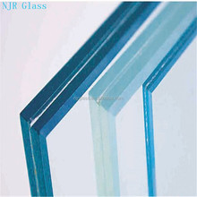6.38-16.38mm strong fireproof laminated safety architectural glass