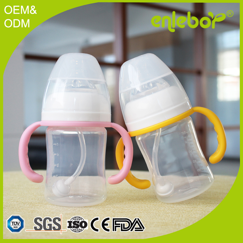 2016 Direct manufacture low price classic enleboy bottle PP silicone baby bottles