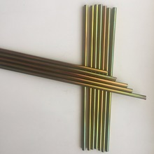 9.52*0.7mm double wall bundy tube with Color zinc coated