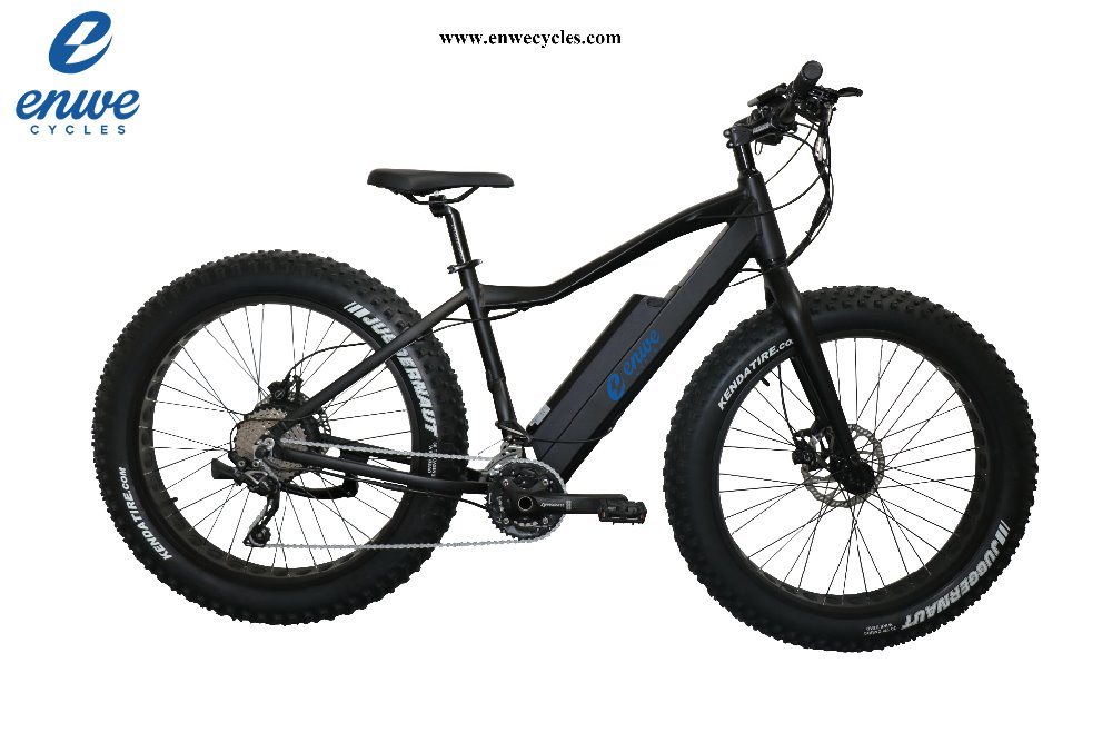 2017 Popular Electric Fat Bike with Bafang 1000W Motor for Adult E-bike Bicycles