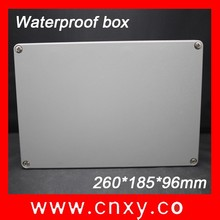 260*185*96mm/motorcycle aluminum box for electronic IP65