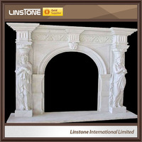 French Style Customized Decorative Fireplace For Sale