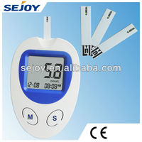 Fast blood glucose monitor For Diabetics with 360 Memory