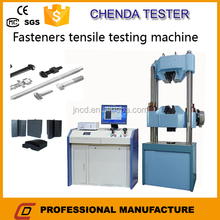 WEW-1000C Conctruction materials industry with computer screen hydraulic universal testing machine for fastener safety test