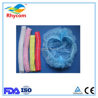 Elastic Free size Disposable Non-woven Hair Net mob cap