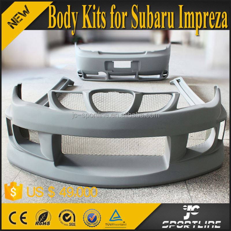 Gray Chargespeed Style WRC Auto Body Kit For Subaru Impreza 9th 06-07