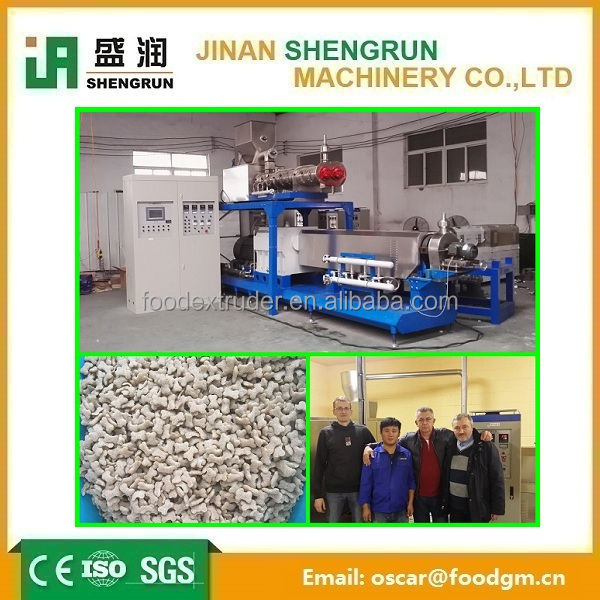 puffed dog and food making machine supplier