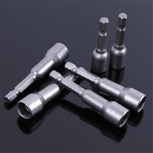 Handtools supplier magnetic nut driver bit set hex power driver bits s2 material screwdriver bit