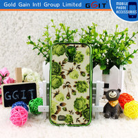 Colorful brushed metal back case for samsung s4