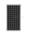 Full Power Black Solar Panel High PV Module Conversion Efficiency For Remote Areas