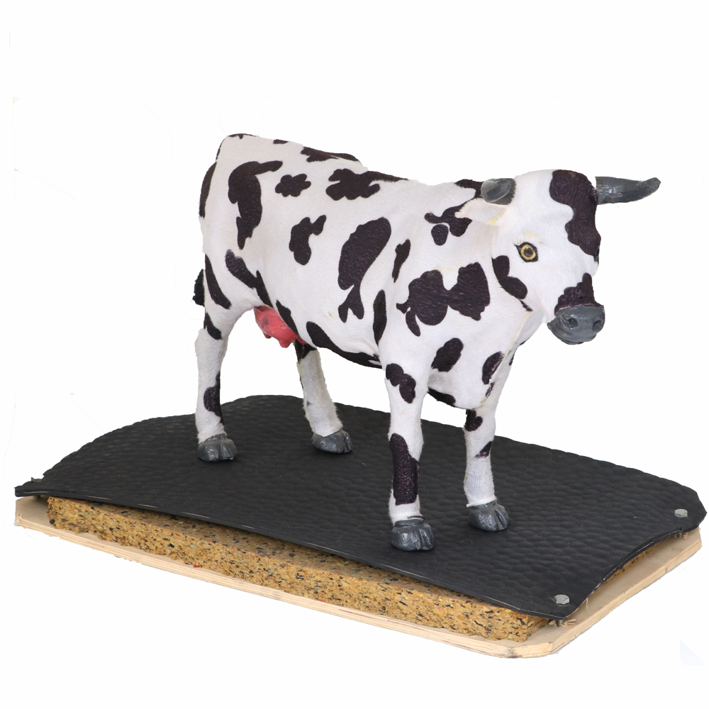 5mm Agri Mat Cow Cubicle Mattress Rubber pig mat Anti backteria non slip durable rubber stable horse matting