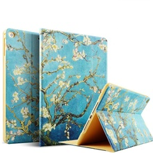 Printing Series Beautiful Pattern PU Leather CASE for ipad pro10.5'', case for ipad PRO10.5''