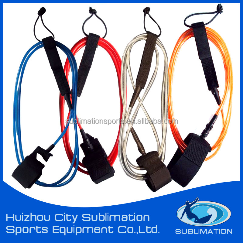 Coiled or straight leg rope,Surfboards,Surfboard leash Type surf cord leash