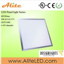 36W 60x60cm 100V-277V high brightness high quality reasonable prices LED Panel Light with UL DLC CE RoHS 5years warranty