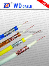 factory price rg11 solid copper coaxial cable