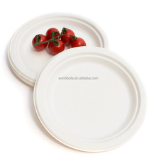 Disposable dinner plate Plastic plates Silver Coated Plastic silver plate For Party