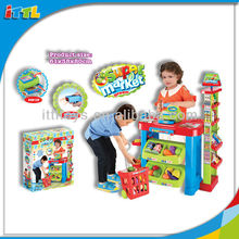 A484091 Kids Supermarket Set Toy Plastic Supermarket Toy