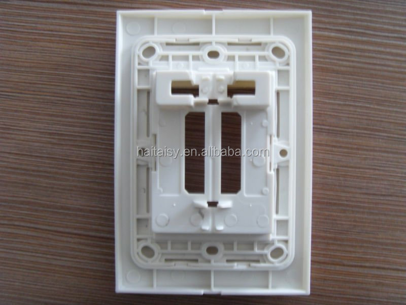 Light switch and outlet plates Porcelain and plastic, 24 piece Variety set