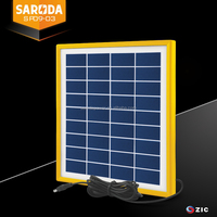SARODA 9V Glass laminated 5W small size Poly solar panel