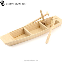 wholesale folk carfts gift wooden boat carft for festival and birthday gift