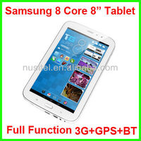 8 inch Samsung 8 Core Full Funtion Tablet PC with 3G+GPS+Bluetooth IPS screen 1280*800 2G+16G