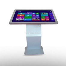 22 inch TFT type commercial advertising lcd touch screen led used kiosk for sale