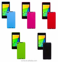 "Slim Fit TPU Gel Rubber Hard Back Case Cover For Google Nexus 7"" 2nd Gen Tablet"