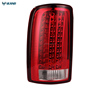 VLAND manufacturer for car lamp for Yukon 2011-2018 for LED rear lamp with DRL+reverse light+turn signal