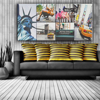 Modern America scenery sample picture of decoration canvas painting