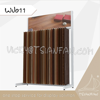 Wholesale Wood Timber Flooring Tile Display Rack