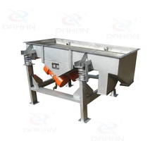 Sand linear vibrating screen machinery