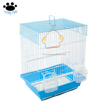 double hanging bird macaw cage stand house