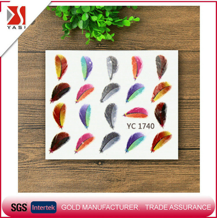 Hot selling promotion eco-friendly beautiful 3d design nail art products