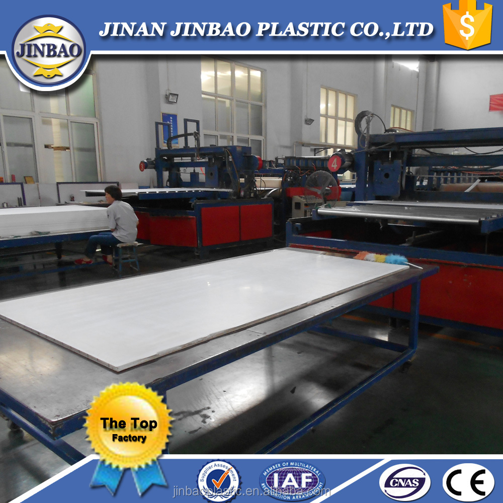 jinbao white UV-anti 15mm1.22x2.44m signletter PVC thin foam sheet