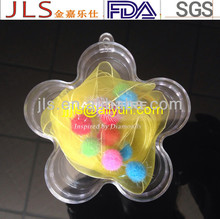 Customized colorful plastic jewelry packaging box