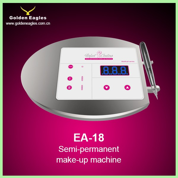 Aluminum PMU machine digital permanent makeup tattoo device