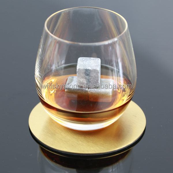 metal round drink glass table coaster