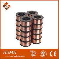 Manufacturing CO2 gas shielding welding wire / solider wire copper coated mig wire Er70s-6 CO2