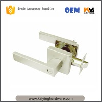 Tubular handle door lock 8809BK-SS,stainless steel handle door lock