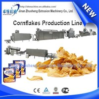 Hot china products wholesale Breakfast Cereal Cornflakes Snack Food Making Machine