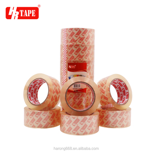 Super clear adhesive BOPP sealing tape manufacturer