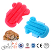 Remove excess hair pet brush comfortable dog bath brush